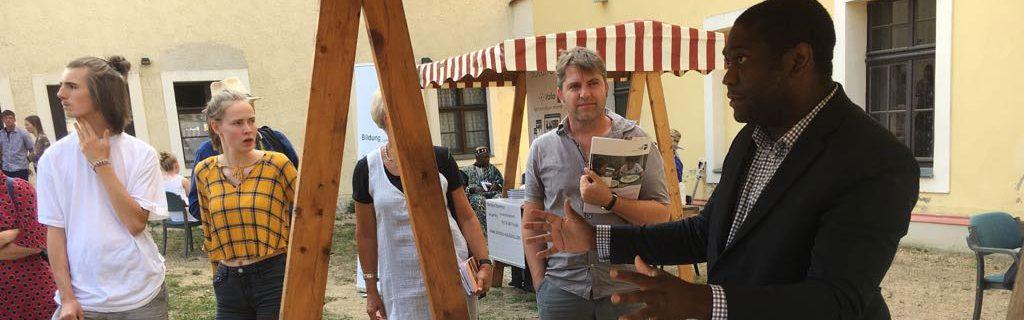 Saheloo au forum pour la coopération économique et du développement à Görlitz